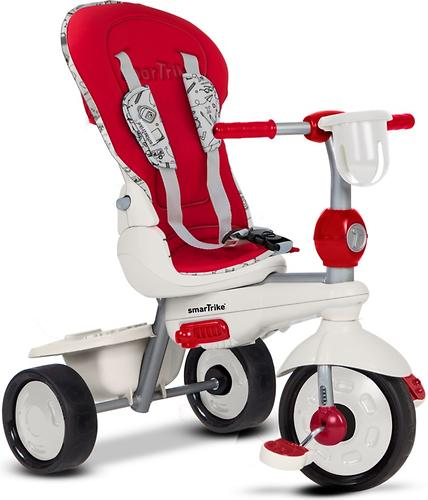 Велосипед Smart Trike 5в1 Dazzle/Splash Red White (12)