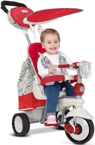 Велосипед Smart Trike 5в1 Dazzle/Splash Red White (13)