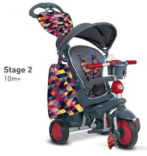 Велосипед Smart Trike 5в1 Explorer Black-Red (9)