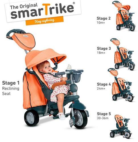 Велосипед Smart Trike 5в1 Explorer Orange (10)