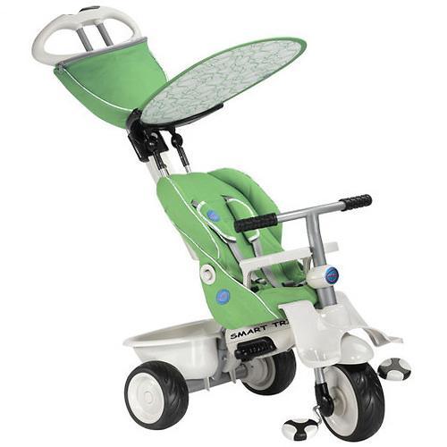 Велосипед Smart Trike Recliner 4в1 Green Gray (5)
