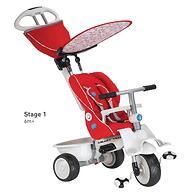 Велосипед Smart Trike Recliner 4в1 Red Gray