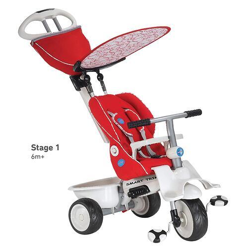 Велосипед Smart Trike Recliner 4в1 Red Gray (7)