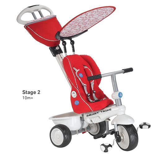 Велосипед Smart Trike Recliner 4в1 Red Gray (8)