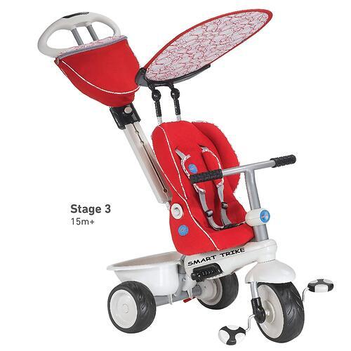 Велосипед Smart Trike Recliner 4в1 Red Gray (9)