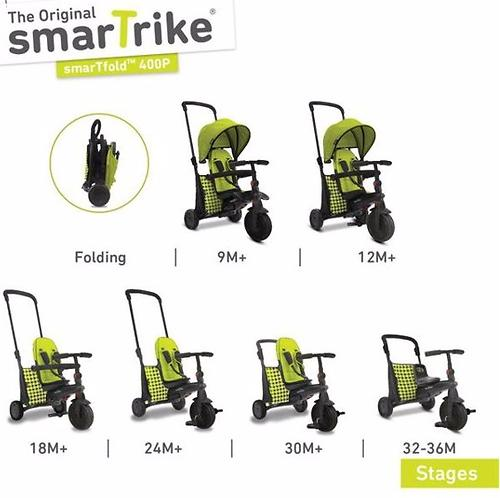 Велосипед Smart Trike 7в1 SmarTfold 400P Green (12)