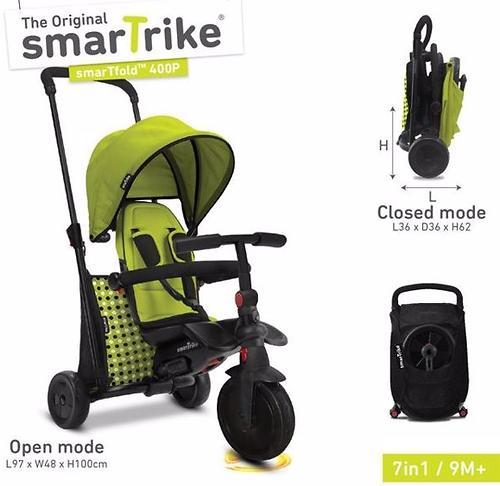 Велосипед Smart Trike 7в1 SmarTfold 400P Green (13)
