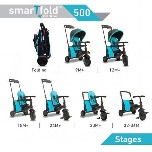 Велосипед Smart Trike 7в1 SmarTfold 500 Blue (16)