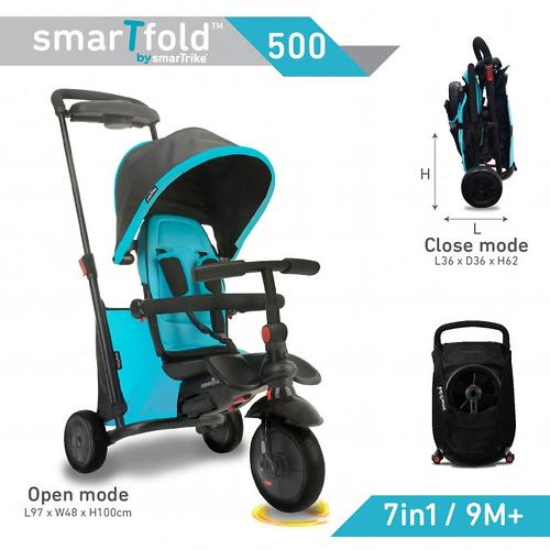 Велосипед Smart Trike 7в1 SmarTfold 500 Blue (15)