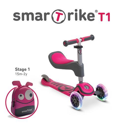 Самокат Smart Trike Scooter T1 Pink (9)