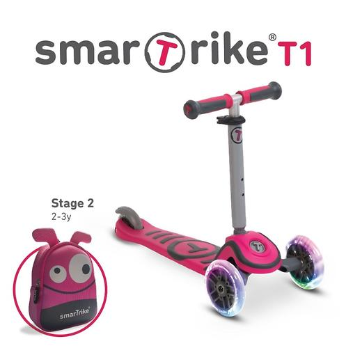Самокат Smart Trike Scooter T1 Pink (10)
