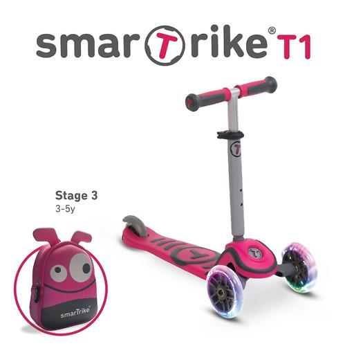 Самокат Smart Trike Scooter T1 Pink (11)