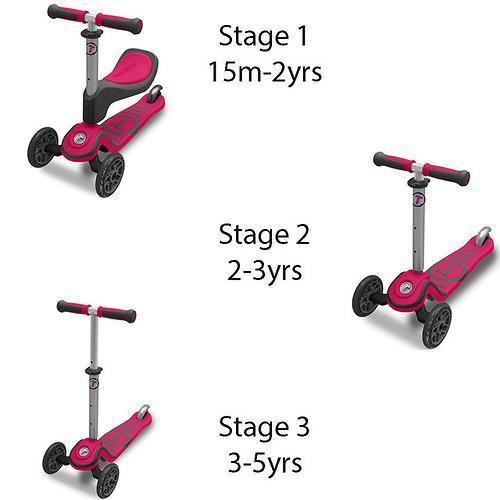 Самокат Smart Trike T-Scooter T1 Pink (10)