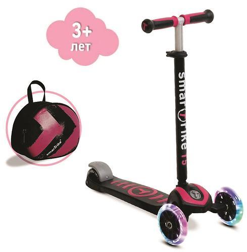 Самокат Smart Trike Scooter T5 Pink (5)