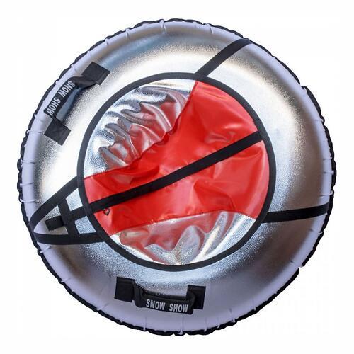 Тюбинг SnowShow Sport Light с подсветкой Красный (6)