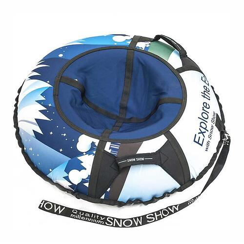 Тюбинг SnowShow X-Line Snow 105см (4)