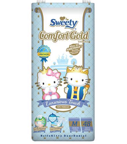 Подгузники Sweety Comfort GOLD Size M 5-10 кг 48 шт (1)