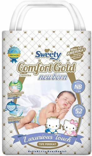 Подгузники Sweety Comfort GOLD Size NB 0-5 кг 52 шт (1)