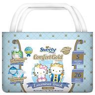 Подгузники Sweety Comfort GOLD Size S 3-6 кг 26 шт