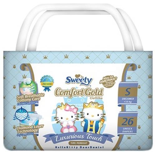 Подгузники Sweety Comfort GOLD Size S 3-6 кг 26 шт (1)