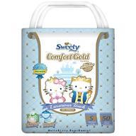 Подгузники Sweety Comfort GOLD Size S 3-6 кг 50 шт