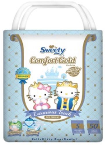 Подгузники Sweety Comfort GOLD Size S 3-6 кг 50 шт (1)