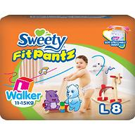 Трусики Sweety Fit Pantz Size L 11-15 кг 8 шт
