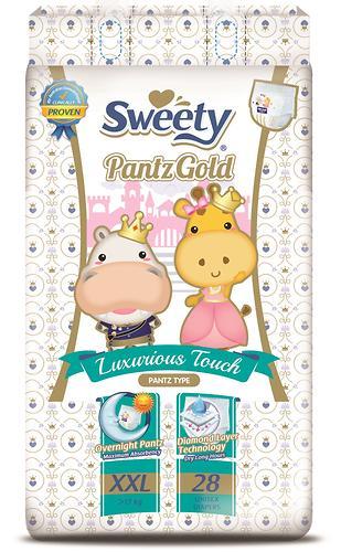 Трусики Sweety Pantz GOLD Size XXL 17-25 кг 28 шт (1)