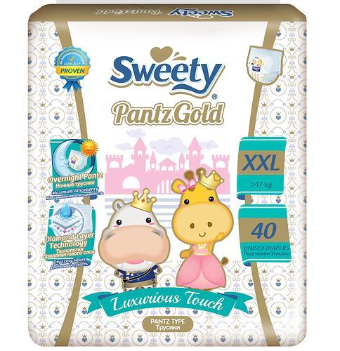 Трусики Sweety Pantz GOLD Size XXL 17-25 кг 40 шт (1)