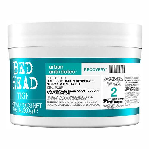 Маска для поврежденных волос уровень 2 TIGI Bed Head Urban Anti+dotes Recovery 200ml (1)