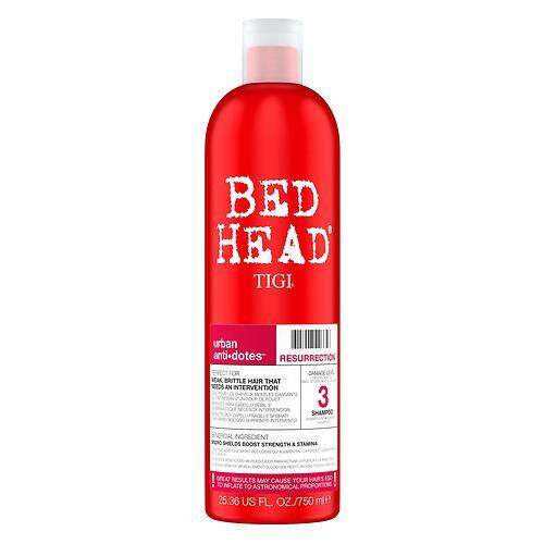 Шампунь для сильно поврежденных волос уровень 3 TIGI Bed Head Urban Anti+dotes Resurrection 750 ml (1)