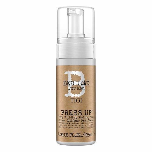 Пена для придания плотности волосам TIGI Bed Head for Men Press Up 125ml (1)