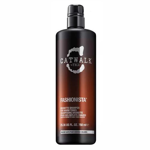 Тонирующий шампунь для брюнеток TIGI Catwalk Fashionista Brunette 750 ml (1)