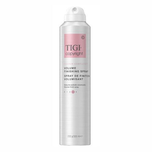 Финишный лак для сохранения объема волос TIGI Copyright Custom Care™ VOLUME FINISHING HAIRSPRAY 300мл (1)