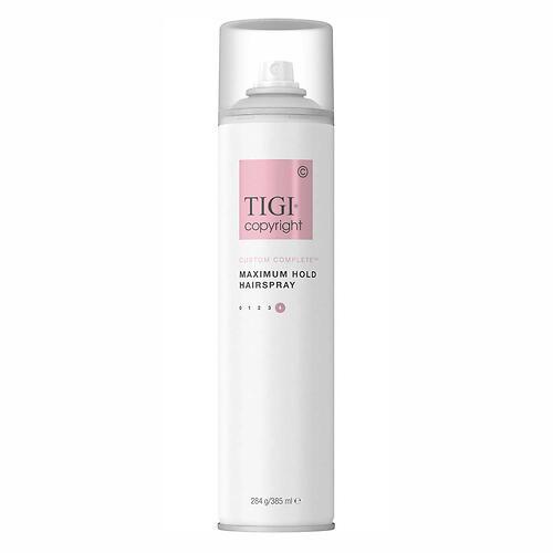 Лак суперсильной фиксации волос TIGI Copyright Custom Care™ MAXIMUM HOLD HAIRSPRAY 385мл (1)