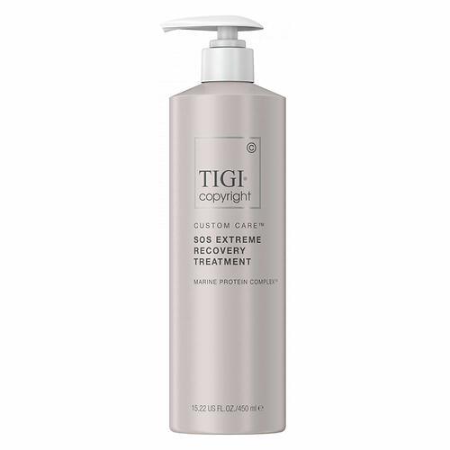 Профессиональная восстанавливающая сыворотка для экстремально поврежденных волос TIGI Copyright Custom Care™ SOS EXTREME RECOVERY TREATMENT 450мл (1)