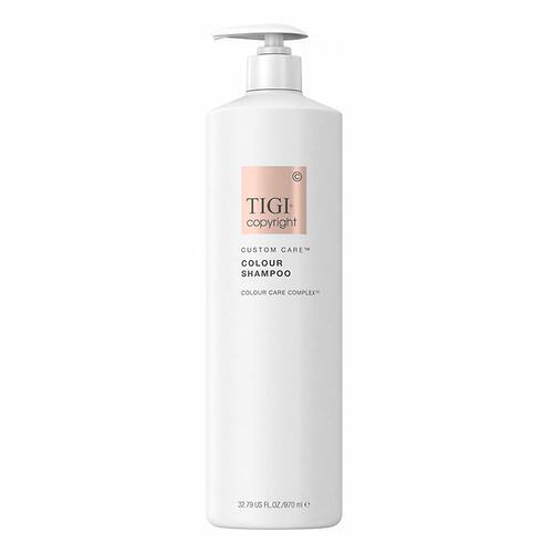 Шампунь для окрашенных волос Бессульфатный TIGI Copyright Custom Care™ COLOUR SHAMPOO 970мл (1)