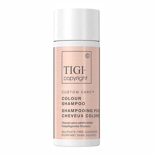 Шампунь для окрашенных волос TIGI Copyright Custom Care™ COLOUR SHAMPOO 12X50МЛ TRAVEL SIZE (1)