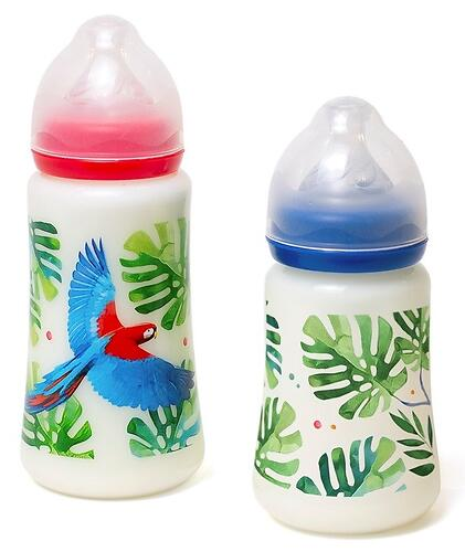 Набор бутылочек Tommy Lise Feathery Mood 250мл/360мл (3)