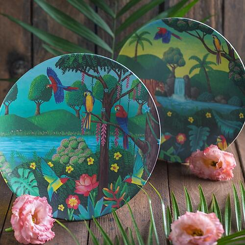 Тарелка Tommy Lise Bird Paradise (6)