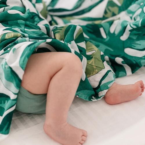 Муслиновая пеленка Tommy Lise Roaming Mangrove 120х120см (4)