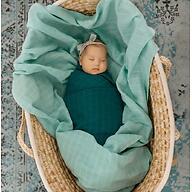 Муслиновая пеленка Tommy Lise Mangrove Green 120х120см