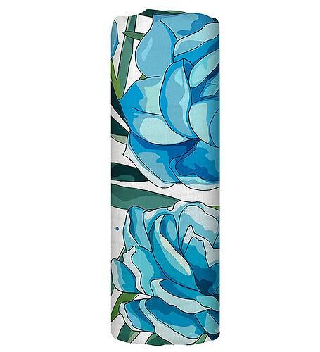 Муслиновая пеленка Tommy Lise Azure Blossom 120х120см (6)