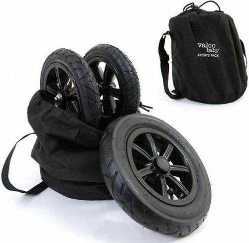 Комплект надувных колес Valco baby Sport Pack для Snap4, Black (1)