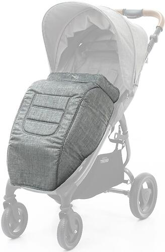 Накидка на ножки Valco baby Boot Cover Snap, Snap 4 Trend Grey Marle (1)