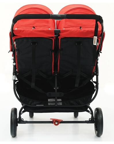 Коляска Valco baby Snap Duo цвет Fire red (12)