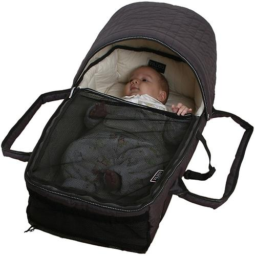 Люлька-переноска Valco baby Soft Bassinet Black (11)