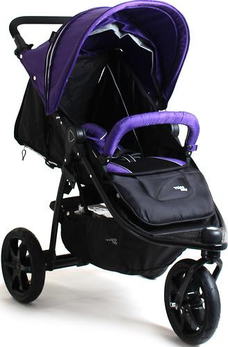 Коляска Valco baby Tri Mode X, цвет Deep Purple (10)