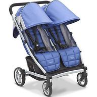Коляска Valco baby для двойни Zee Two, цвет Blue opal