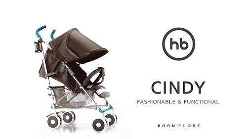 Коляска Happy Baby Cindy Grey (24)